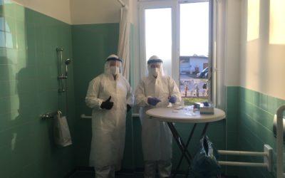 5. Eindämmungsverordnung in Kraft getreten // Test- und Maskenpflicht in der Caritas-Werkstatt