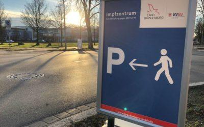 Möglichkeiten zur Corona-Schutzimpfung für Angehörige in den Brandenburger Impfzentren